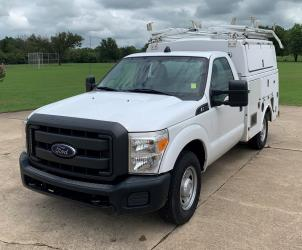 2013 FORD F-350 SD XL 2WD DEDICATED CNG