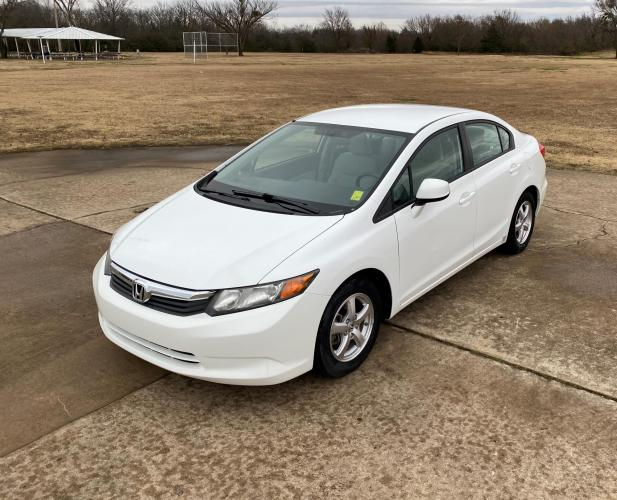 2012 HONDA CIVIC DEDICATED CNG SEDAN 5-SPEED AT