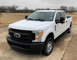 2017 FORD F-250 SUPER DUTY CREW CAB 4WD BI FUEL  CNG OR GASOLINE