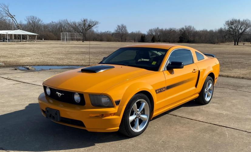 2007 Ford Mustang GT Deluxe Coupe CALIFORNIA SPEACIAL EDITION