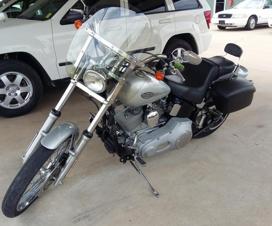 2004 Silver Harley-Davidson Softail Standard (1HD1BVB164Y) with an 1500cc engine, Standard transmission, located at 17760 HWY 62, MORRIS, 74445, 35.609104, -95.877060 - Photo #13